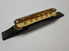 GRETSCH SETZER ADJUSTOMATIC BRIDGE GOLD w BASE 6120 WHITE FALCON CHET ATKINS