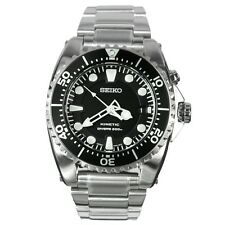 SEIKO MEN KINETIC CAPACITOR SCUBA DIVER'S SKA371 WATCH 200M SKA371 SKA371P1