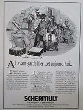 10/1983 PUB SCHERMULY LANCE AMARRES WILLIAM SCHERMULY 1897 ROYAL NAVY FRENCH AD