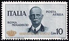 * Italia Regno 1934: CORONCINA Servizio Aereo [Lire 10; MH VF] Tiratura 5.000
