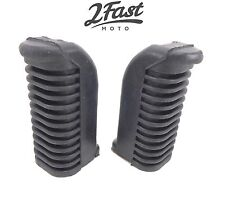 Yamaha Footrest Footpeg Covers Front Foot Rest Peg Rubbers XJ550 XJ550R XJ 550