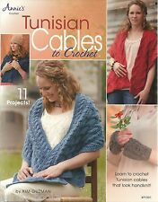 Tunisian Cables to Crochet Kim Guzman Learn to Instruction Pattern Book NEW