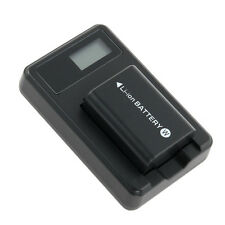 New NP-FW50 Camera Battery with LCD Charger High Quality