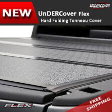 UnderCover Flex Tonneau Tonno Hard Fold Cover fit Ford F-150 04-14 5.5' bed
