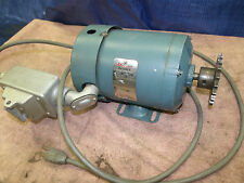 Reliance Duty Master Electric Motor 1/6 hp S48E1009P-DQ 1140 rpm 115 v