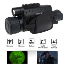 Night Vision Goggles Monocular IR Surveillance Camera Home Gen for Rifle Scope