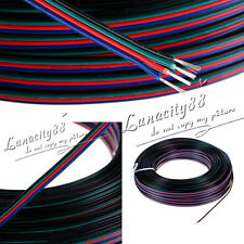 10M RGB 4-Pin 22AWG Extension Cable Cord Wire Connector for LED Strip 3528 5050