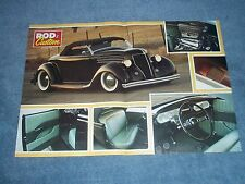 "1936 Ford Roadster Hot Rod Article ""Done Deal"""