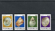 Tuvalu  1994 conchiglie 657-60 mnh