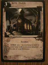 CALL OF CTHULHU CCG: ARKHAM EDITION: RARE CARD: NORTH CHURCH