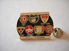 a1 ZENIT DRESDEN STUTTGART ALEMANNIA NURNBERG LEVERKUSEN BAYERN football pins
