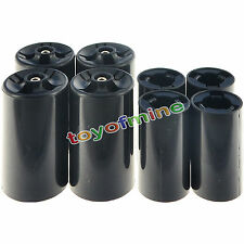 4x AA to C Size Battery Converter Case+1x AA to D Size Battery Converter Case