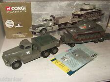 Corgi 55101 Diamante De Tirantes Transportador & M60 A1 Tanque, Armadura 32ª,