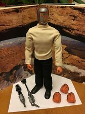 Six million Dollar man MASKATRON Action Figure Complete Excellent Shape!!!