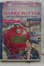 Harry Potter &Philosopher's Stone by Rowling: Unabridged Cassette Audiobook (X3)