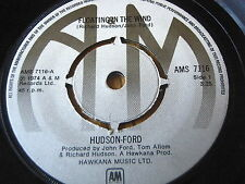 """HUDSON FORD - FLOATING IN THE WIND   7"""" VINYL"""