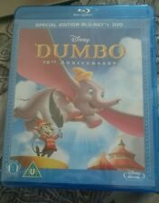 Dumbo DVD 70th Anniversary Special Edition (Blu-ray, 2010, 2-Disc Set)