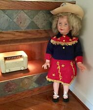 Vintage Patty Play Pal 35 Inch Doll Sally Starr Cowgirl Outfit Philadelphia Rare