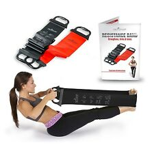 Set of 2: Abco Sport Resistance Bands for Strength and Flexibility