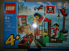 LEGO 7073 Pirates Junior Pirate Dock New Sealed Retired MISB
