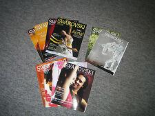Swarovski Mitgliederzeitschriften 2003, 2004, 3 von 2006 und 1 von 2009