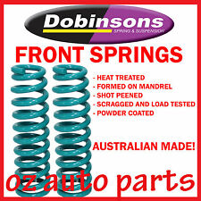 "NISSAN PATROL GQ GU 8/1987-ON FRONT DOBINSONS 4"" INCH RAISED COIL SPRINGS"