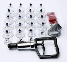 19 Cups Chinese Cupping Vacuum Massage Medical Therapy Diet Acupuncture KOREA