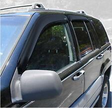 Auto Ventshade 94320 Ventvisor; Deflector 4 pc. 93-98 Grand Cherokee (ZJ)
