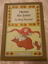VTG 1977 Hester the Jester hardcover I Can Read BOOK Weekly Reader BEN Shecter