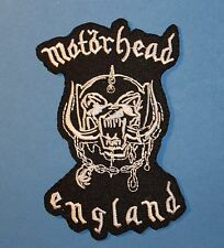 `MOTORHEAD ENGLAND ` SEW OR IRON ON PATCH