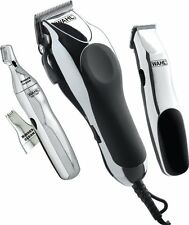 Professional Barber Set Wahl Home Haircut Kit Trimmer Beard Salon Scissor Comb