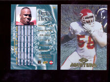 1997 CE Collectors Edge Masters DERRICK THOMAS Kansas City Chiefs Card