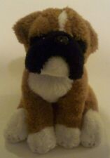 "Nat & Jules Boxer Dog    Plush 6"" Stuffed Animal"