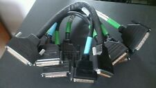 "5 x Premium double shielded HD68 TO HD68 U320/U160 LVD/SE SCSI CABLE 15"" Lot"