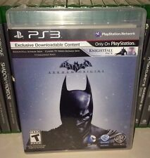 PS3 Batman Arkham Origins Collectors Edition NEW Sealed REGION FREE USA Game