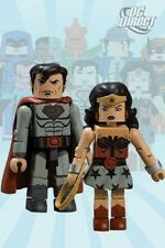 Dc Universe Minimates Series 8 Wonder Woman & Superman Diamond Select JC