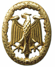 German Prussia Reich Royal Battle Army Battle Gold 1 Class Eagle Badge Award Pin