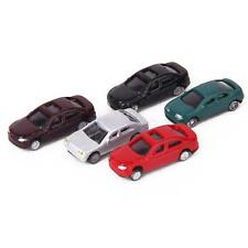 50pcs Painted Model Cars Building Train Diorama Layout Scale N