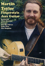 Learn To Play Martin Taylor Fingerstyle Jazz GUITAR DVD I GOT RHYTHM TAB PICKING