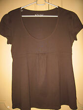 VS TEE SHOP ( Victorias Secret ) scoopneck blouse - XL