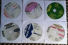 6 CDG KARAOKE DISCS BEST OF GIRL POP & COUNTRY-LADY GAGA,ADELE,CARRIE UNDERWOOD