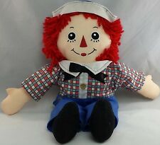 "Applause Classic Raggedy Andy Doll stuffed 16"" Toy"