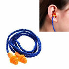 5pcs Lot Reusable Silicone Corded Ear Plugs Hearing Protection Effect Earplugs