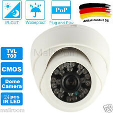 1/4CMOS 700TVL Indoor CCTV IP Kamera 24pcs IR LED Video PAL überwachungskamera