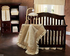 FULL CRIB SIZE- Babi Italia  - Luna 7-pc WALL ART & NURSERY BEDDING SET