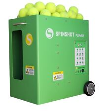 New SPINSHOT-PLAYER Tennis Ball Machine W/ phone remote control