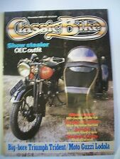 Classic Bike Magazine. No. 47. December, 1983. Big-bore Triumph Trident/Moto Guz