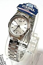 Casio Watch Women's Silver Stainless Steel Analog Quartz White Dial LTP-1274D-7A