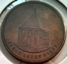 1895 Lewistown PA Centennial Medal Copper 32mm