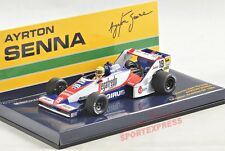 NEW 1/43 Minichamps 540844339 Toleman Hart TG183B, Senna collection #39